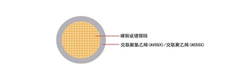 汽车电线AVSSX/AESSX